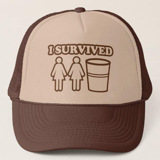 2 Girls 1 Cup Trucker Hat