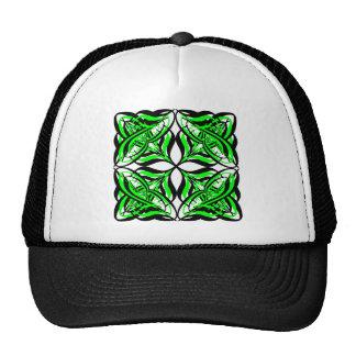 2 Green Alternate Transparent Trucker Hat