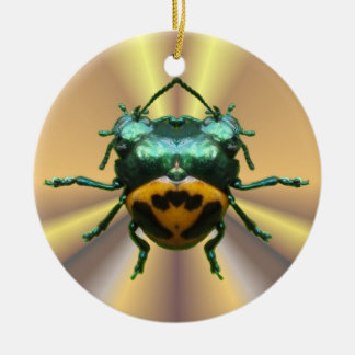 2 Head Beetle ~ ornament