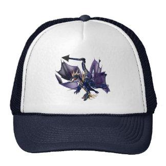 2-Headed Blue Dragon Cap
