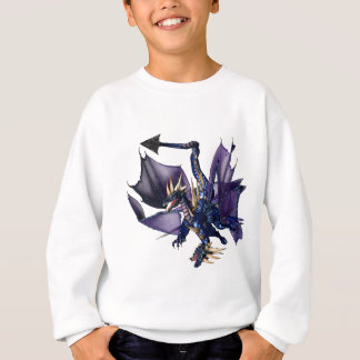 2-Headed Blue Dragon Sweatshirt
