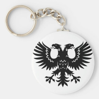 2 headed eagle key ring