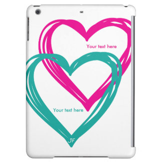 """2 heart"" Case Savvy Glossy iPad Air Case"