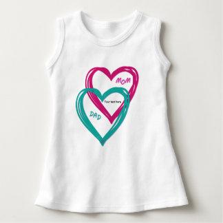 2 hearts dress