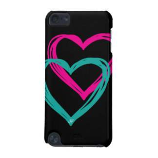 """""""2  Hearts"""" iPod Touch 5g, Barely There iPod Touch (5th Generation) Case"""