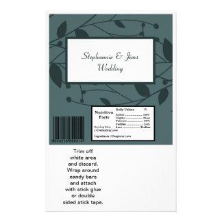 2 Hershey's Large Bar Wrapper Twilight Twigs Flyer Design