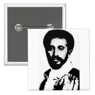 "2"" HIM Haile Selassie I Badge"
