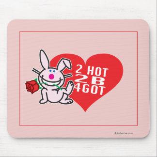 2 Hot 2 B 4Got Mouse Mat
