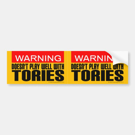 2-in-1 Warning: Doesn't Play Well With Tories Bumper