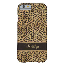 #2 iPhone 6 case Chic Leopard Monogram Barely There iPhone 6 Case