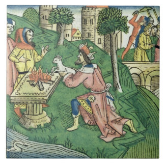 2 Kings 16 9-16 The people of Damascus are taken c Tile