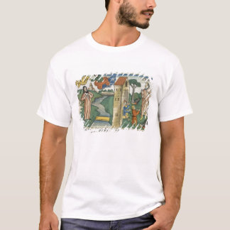 2 Kings 2 1-24 Elijah ascends to Heaven in a whirl T-Shirt