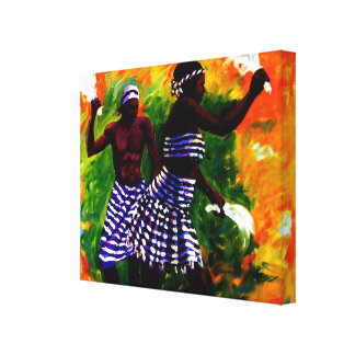 2 LOVER CANVAS BY MOJISOLA A GBADAMOSI OKUBULE GALLERY WRAP CANVAS