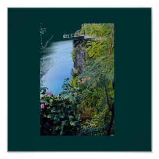 2 Lovers Point Guam Poster