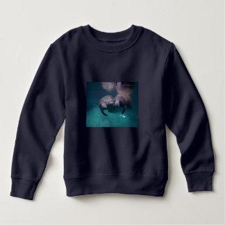 2 Manatee Friends 2 sided Baby sweatshirt