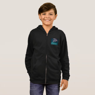 2 Manatee Friends Kids hoodie