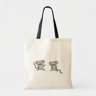 2 mice cute bag