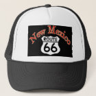 2 New Mexico Route 66 Trucker Hat