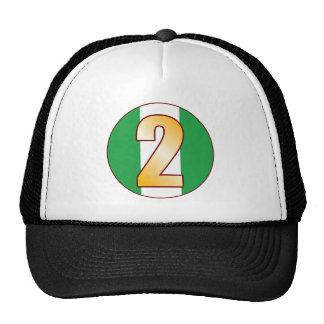 2 NIGERIA Gold Cap