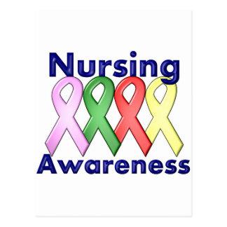 2 Nursing Awareness Postcard