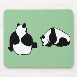 2 pandas mousepad