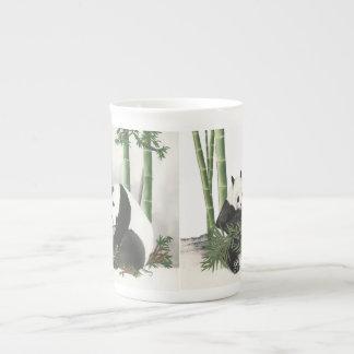2 Pandas Tea Cup