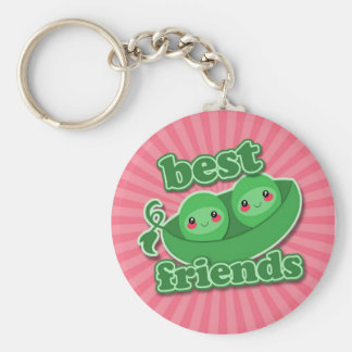 2 PEAS  BEST FRIENDS KEY RING