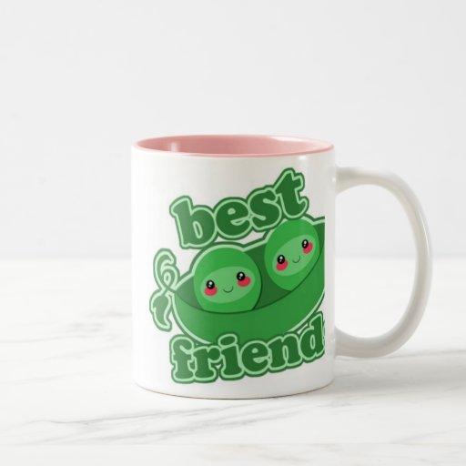 2 PEAS  BEST FRIENDS MUGS