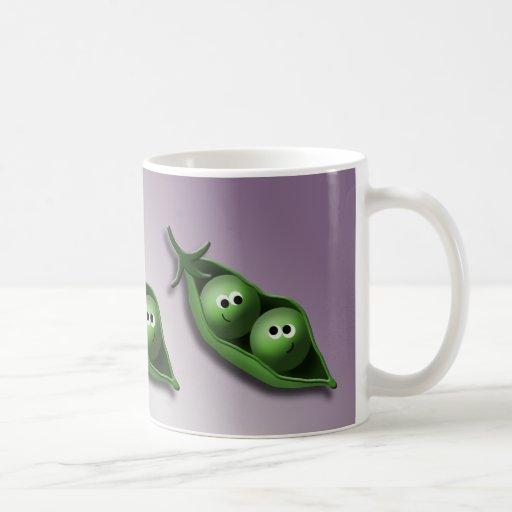 2 Peas in a Pod Love and Friendship mug
