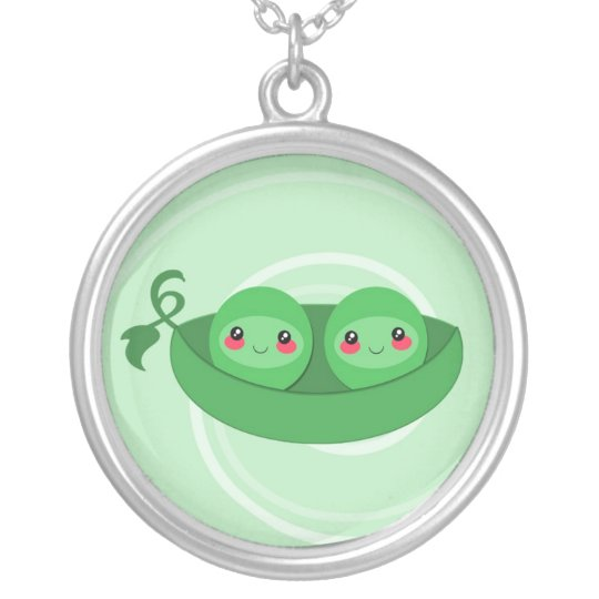 2 PEAS in a POD - necklace