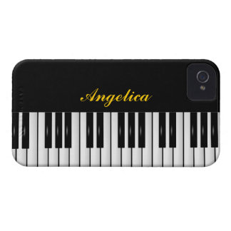 #2 piano keyboard customisable iPhone 4 Case-Mate cases