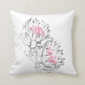 2 protea pillow