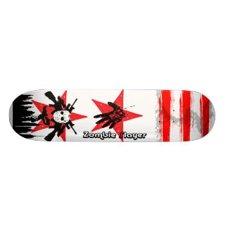 2 Red Star Zombie Ski Mask Slayer Skateboard Decks