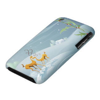 2 Reidneers Abstract Winter Snow Case-Mate iPhone 3 Case