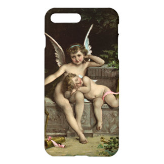 2 retro cupids sitting iPhone 7 plus case