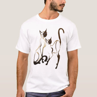 2 Siamese KittiesT-Shirt T-Shirt