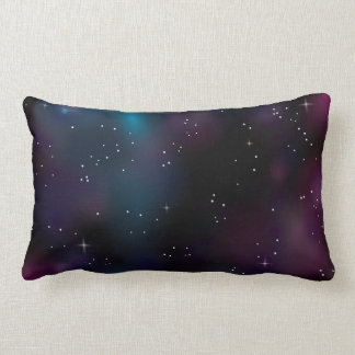 2-Sided Daytime Sky Nighttime Galaxy Pillow