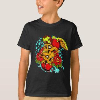 2 Skulls In A Hat T-Shirt