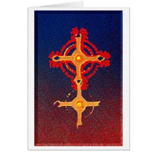2 Spirit Sky Greeting Card