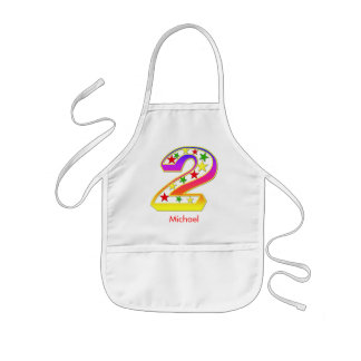 2 Star Apron for Kids