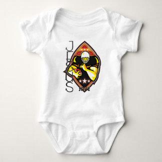 2 Timothy 1-7 For God Baby Bodysuit