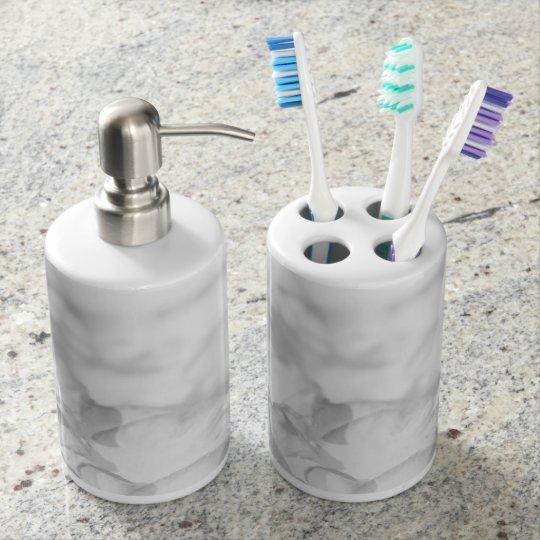 2 Timothy 1-7 For God Soap Dispenser And Toothbrush Holder