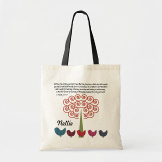 2 Timothy 3:15-17 Scripture Tote Bag
