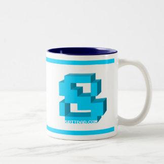 2-Tone Deluxe 8-Bit Mug