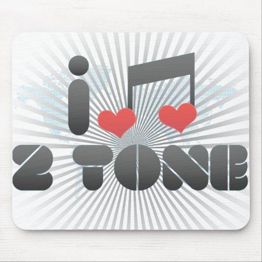 2 Tone fan Mousepads