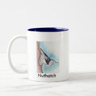 2 Tone Nuthatch Mug