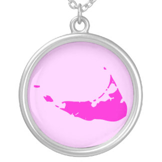 2-Tone Pink Nantucket Silver Plated Necklace