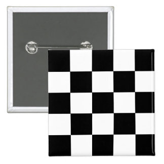2-Tone Ska Checks 15 Cm Square Badge