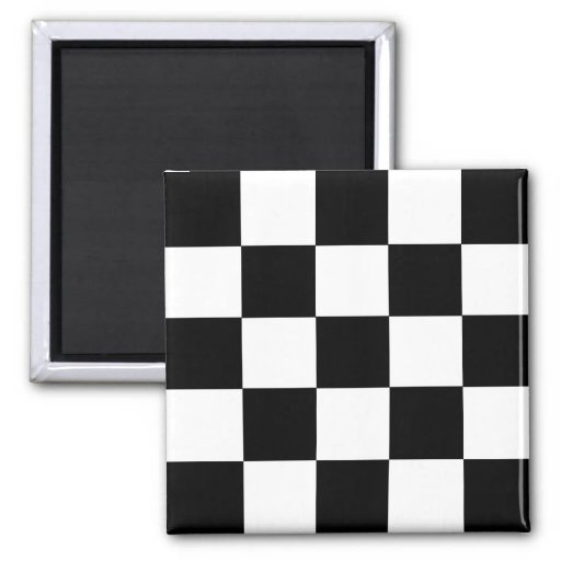 2-Tone Ska Checks Fridge Magnet