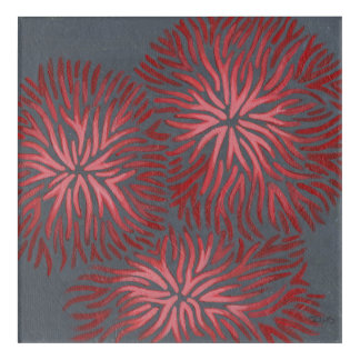 2-Up Dianthus II Acrylic Wall Art